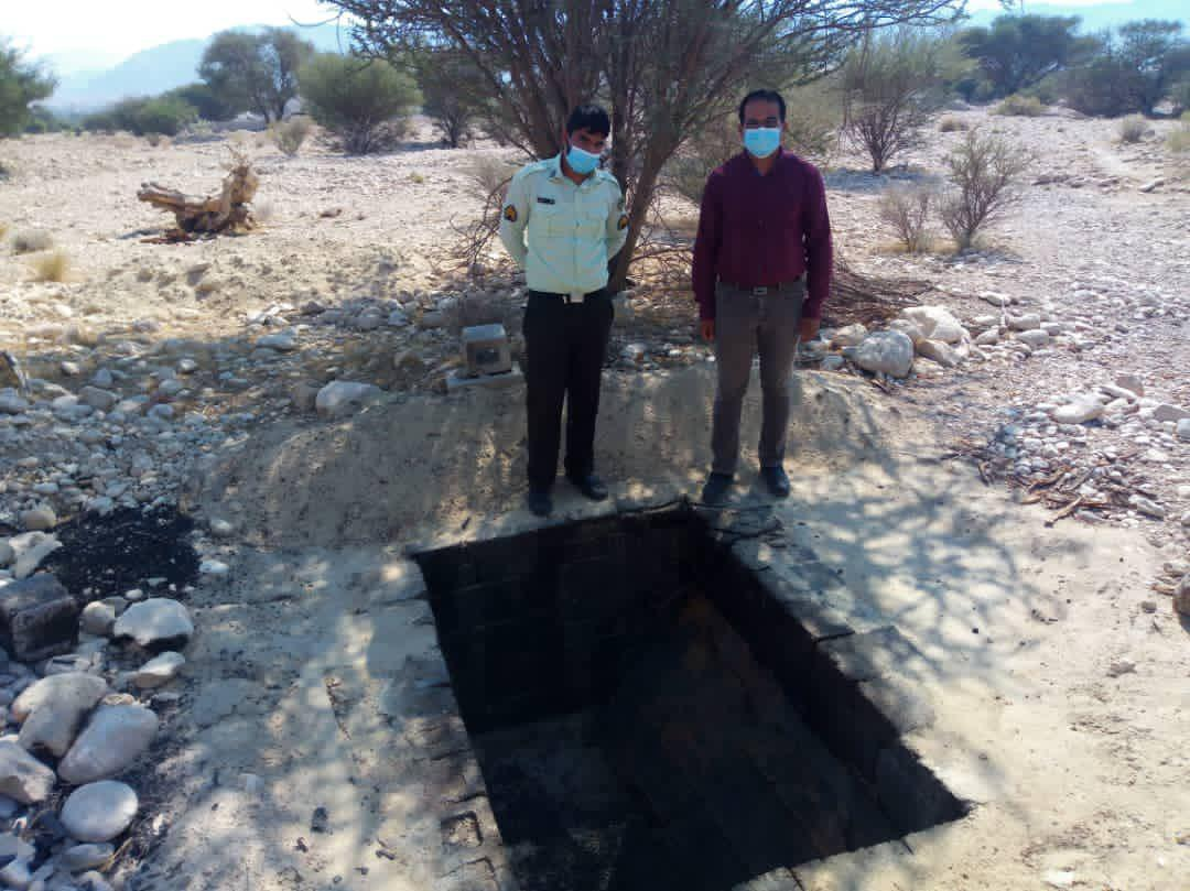 انهدام دو حلقه کوره تولید زغال غیرمجاز در اطراف روستای گریند