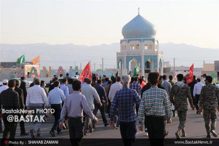 مراسم پیاده روی جاماندگان اربعین در جناح